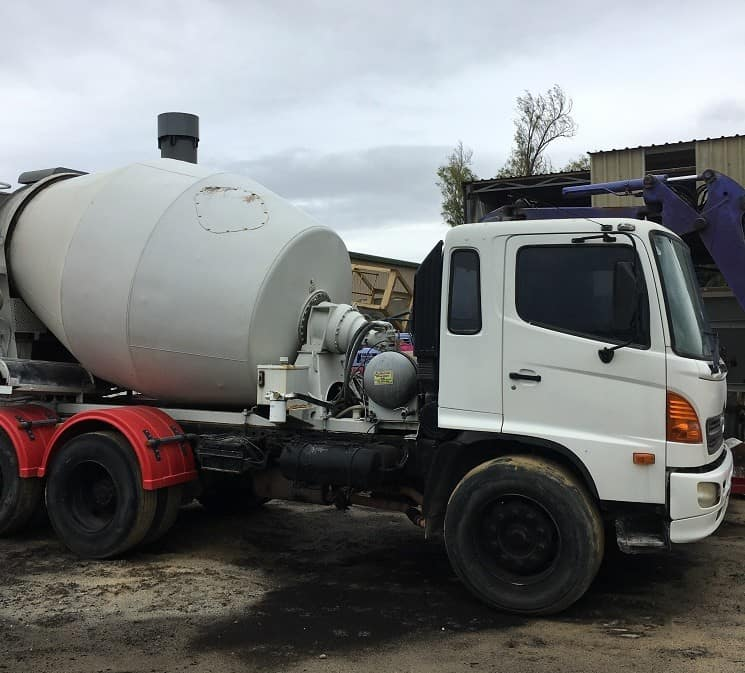 Large Concrete Truck in Perth